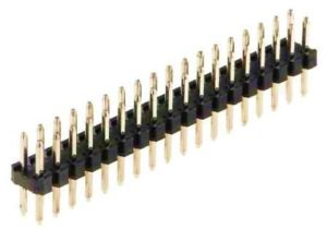 100-1001 PIN HDR 2.00MM DUAL ROW TH VERT 2A