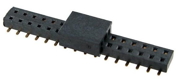 101-1003 BOARD TO BOARD SOCKET 2.00MM DUAL ROW VERT SMT LOW PROFILE