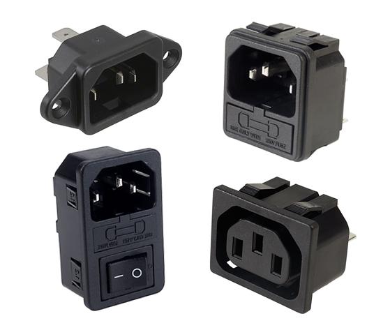 IEC 60320 Power Inlet Outlet Connectors