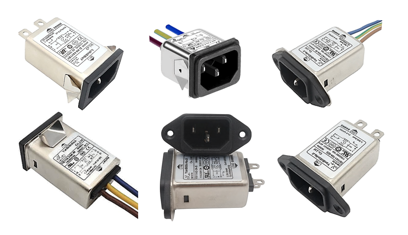 IEC FILTERED POWER INLETS